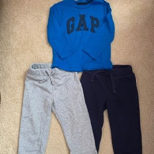 baby GAP 18-24 months 1 shirts and 2 pants